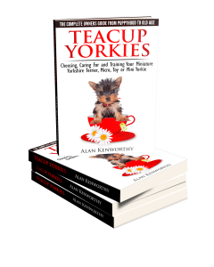 Teacup Yorkie book cover